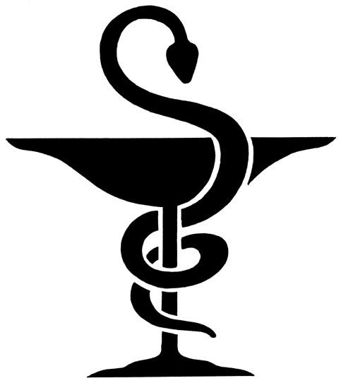 Bowl of Hygeia Nursing Symbol Design